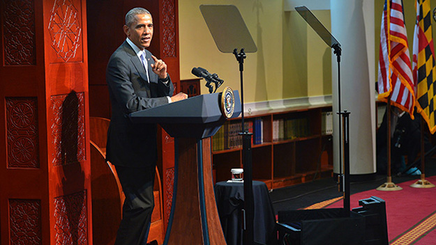 rhetorical analysis of barrack obamas second The analysis shows that obama not only knows extremely well how to use the  classical inventory of (political) rhetoric, but also tries to.