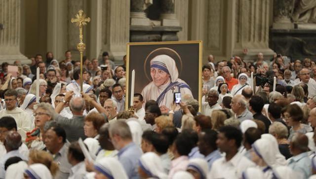Seligsprechung Mutter Teresa