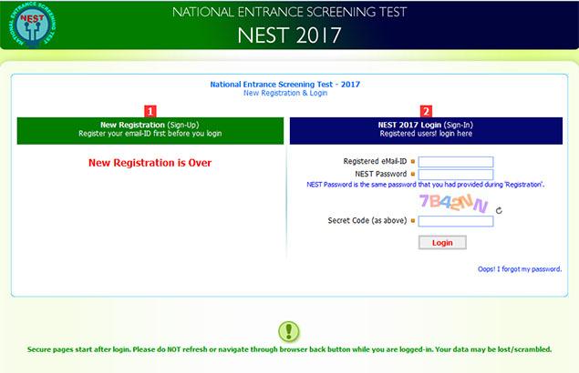 Nest Online Login