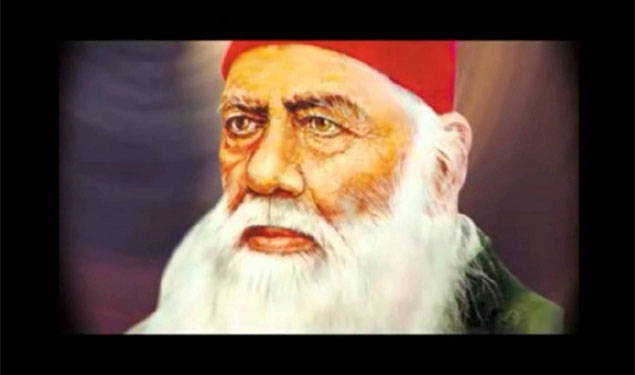 sir syed ahmed khan and his Sir syed ahmad khan and his contributions the great emancipator of the indian muslims sir syed ahmad khan was born at delhi in 1817  sir syed ahmed khan ,by .