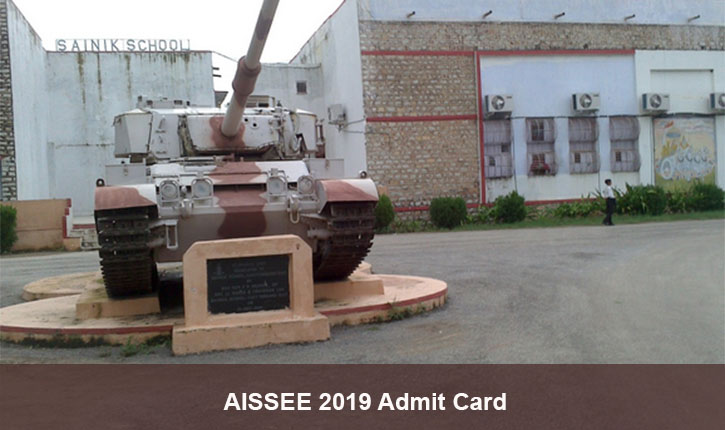 AISSEE 2019 Admit Card