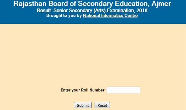 Rbse rajasthan registers 89 in 12th arts 2018 exam check your rajasthan class 12 arts result 2018 the rajasthan board senior secondary examination rbse registered an overall pass percentage of 8892 in 12th arts malvernweather Gallery