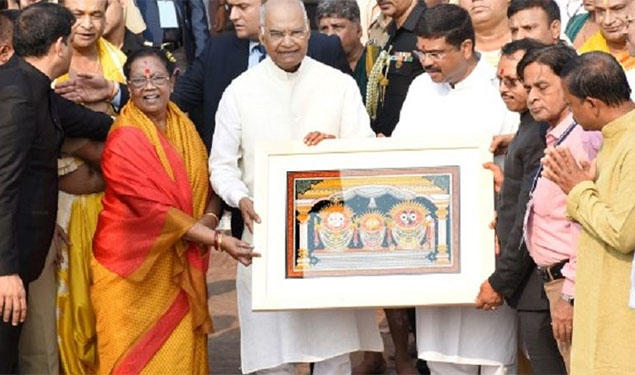 President Kovind at Jagannath Temple