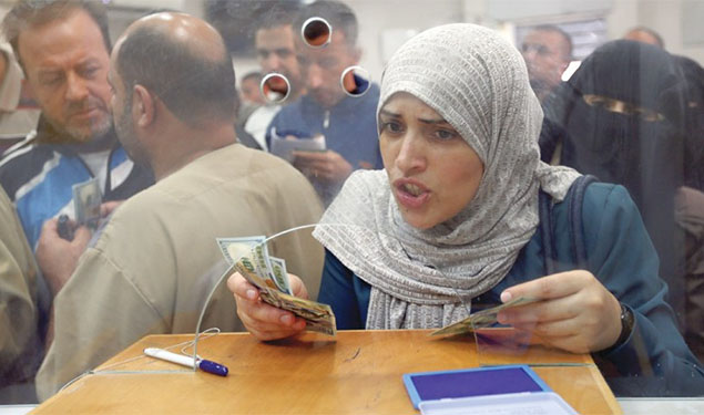 Qatar Pays Gaza Salaries