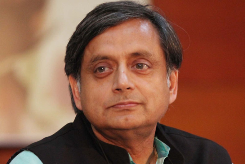 Shashi Tharoor on US Kashmir Resolution