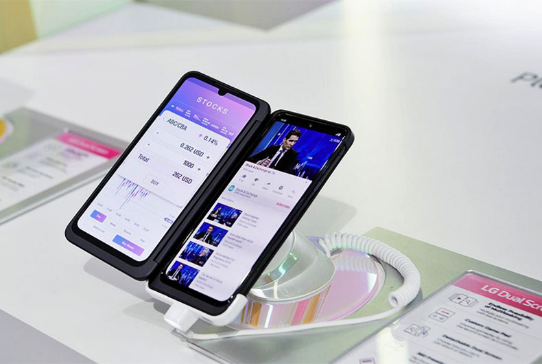 LG Dual Screen Phone