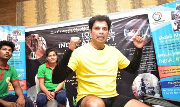Shakil Ahmed Indoor Rowing