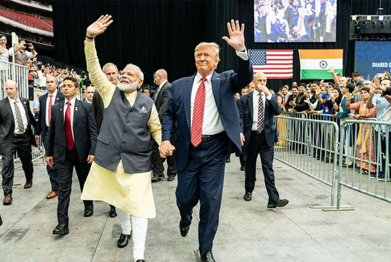2020 US Election and India America relation