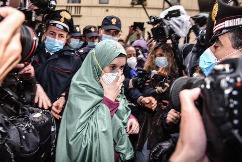 Silvia Romano converts to Islam