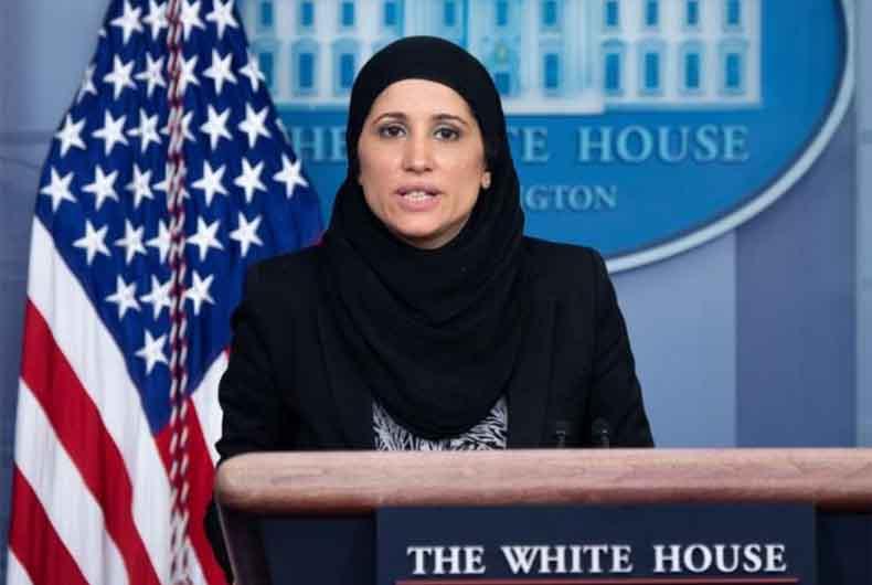 Sameera Fazili in Hijab