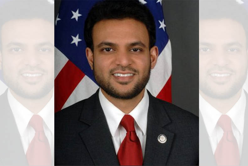 Rashad Hussain 1st US Muslim Envoy for Religious Freedom