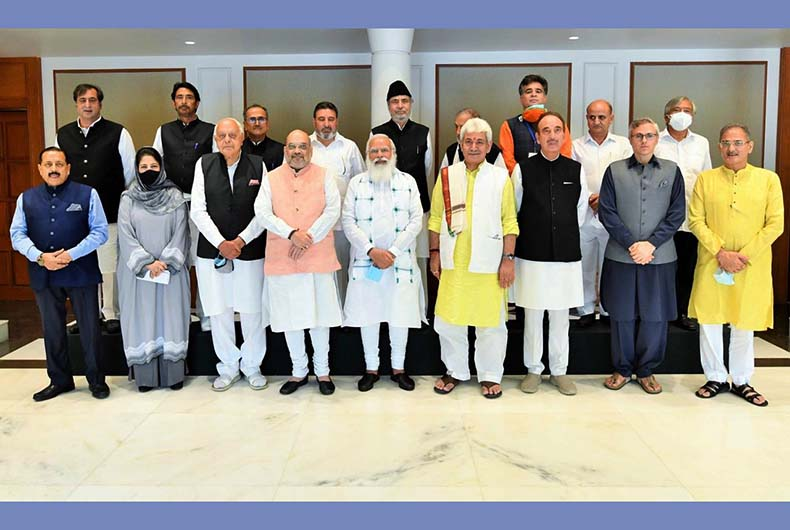Modis meeting on Kashmir