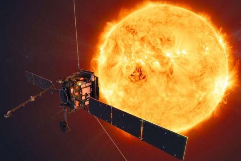 Burst of Hot Gas  - burst of hot gas - Scientists unlock old space weather puzzle using supercomputer