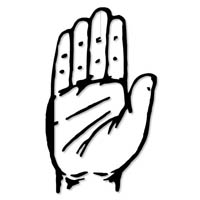 political party symbols coloring pages | 2009: A year of triumph for Congress and MNS rise | ummid.com